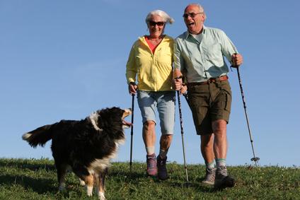 Auch im Alter fit: mit Sport und gesunder Ernährung