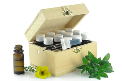 Ein Kästchen mit Arzneimitteln