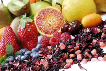 Viele Früchte mit vielen Vitaminen