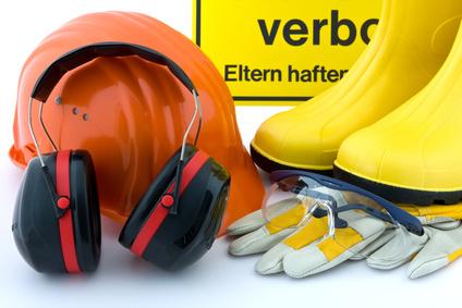 Gehörschutz am Arbeitsbplatz