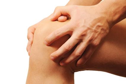 Gelenkschmerzen am Knie