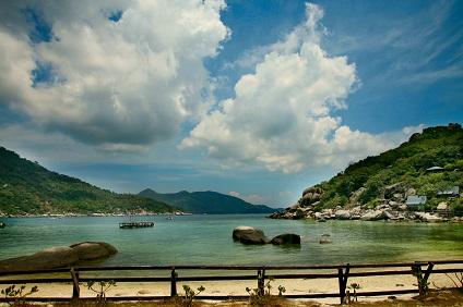 Ein thailändischer Strand